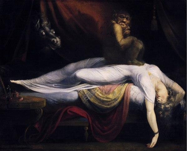 o demônio da noite